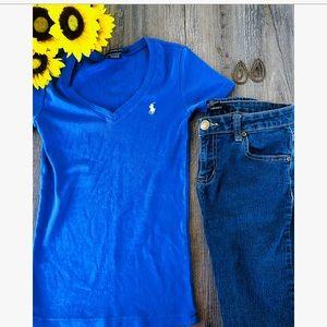 Ralph Luaren sport women's blue shirt small